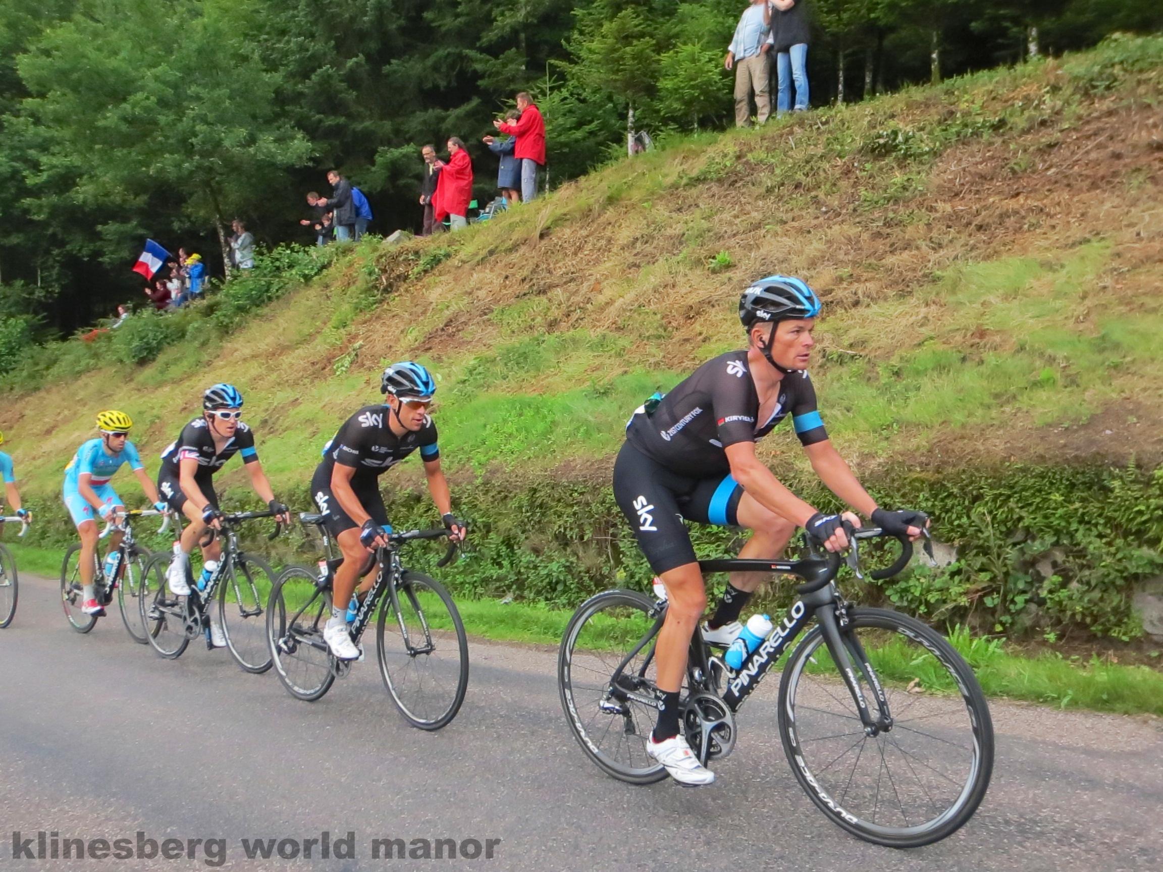 Orica greenedge klinesberg world manor for Richie porte team sky